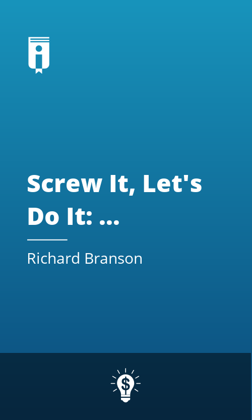"Book Cover for ""Screw It, Let"