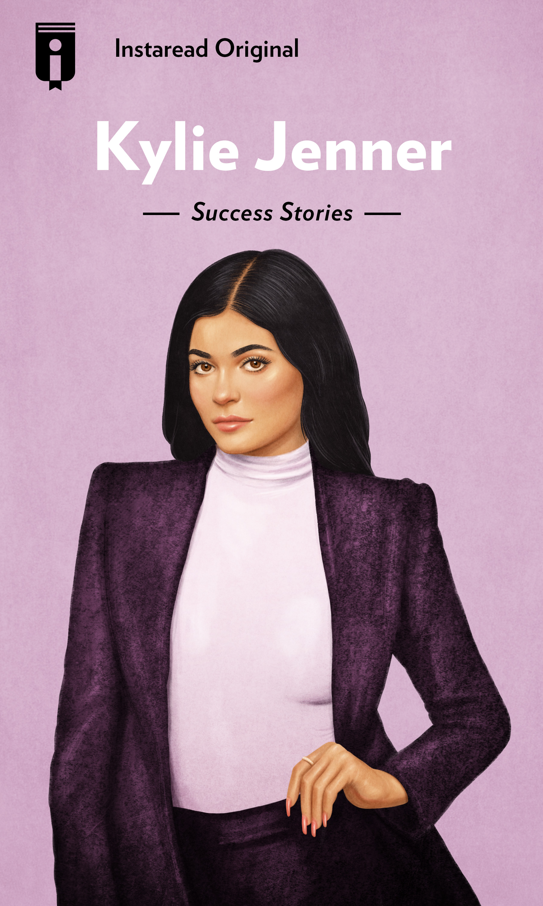 "Book Cover for ""Kylie Jenner"""
