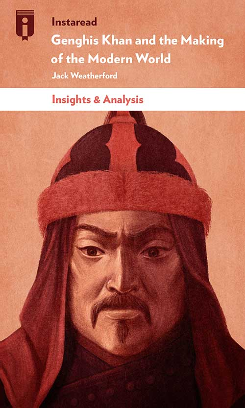 "Book Cover for ""Genghis Khan and the Making of the Modern World"""
