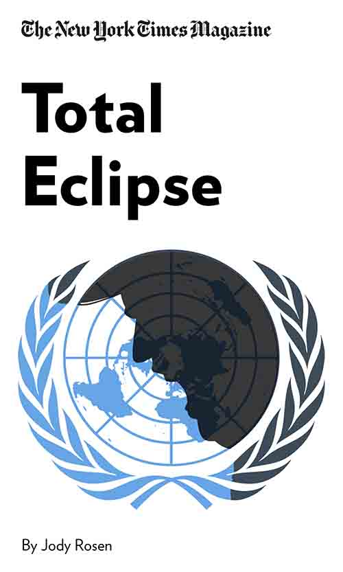 "Book Cover for ""Total Eclipse"""