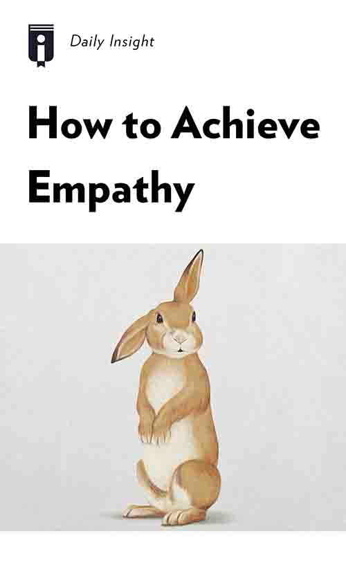 "Book Cover for ""How to Achieve Empathy"""