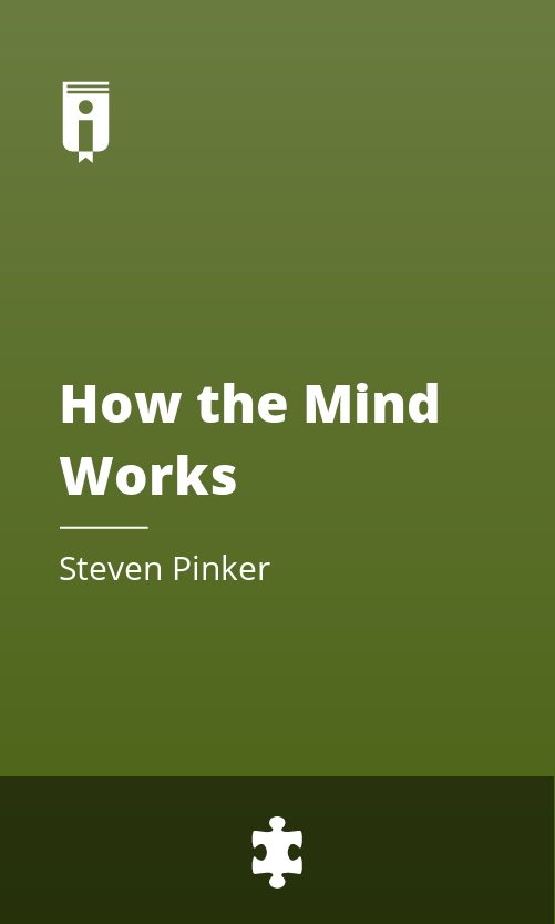 "Book Cover for ""How the Mind Works"""