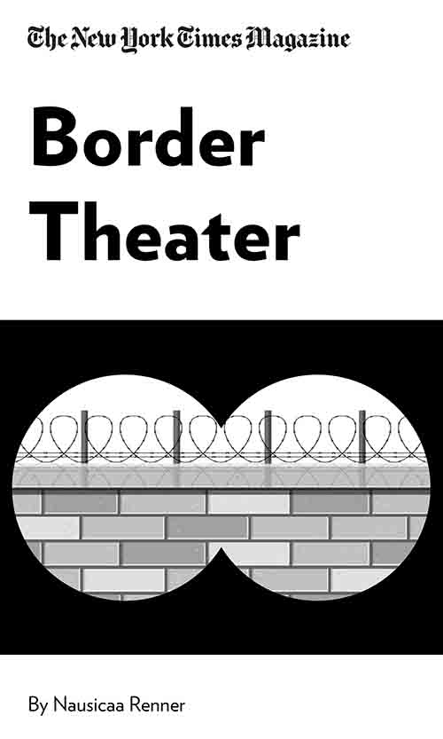 "Book Cover for ""Border Theater"""