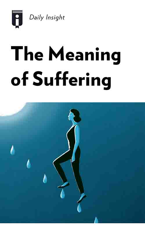 "Book Cover for ""The Meaning of Suffering"""