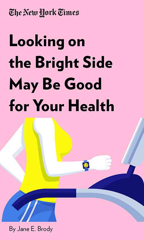 "Book Cover for ""Looking on the Bright Side May Be Good for Your Health"""
