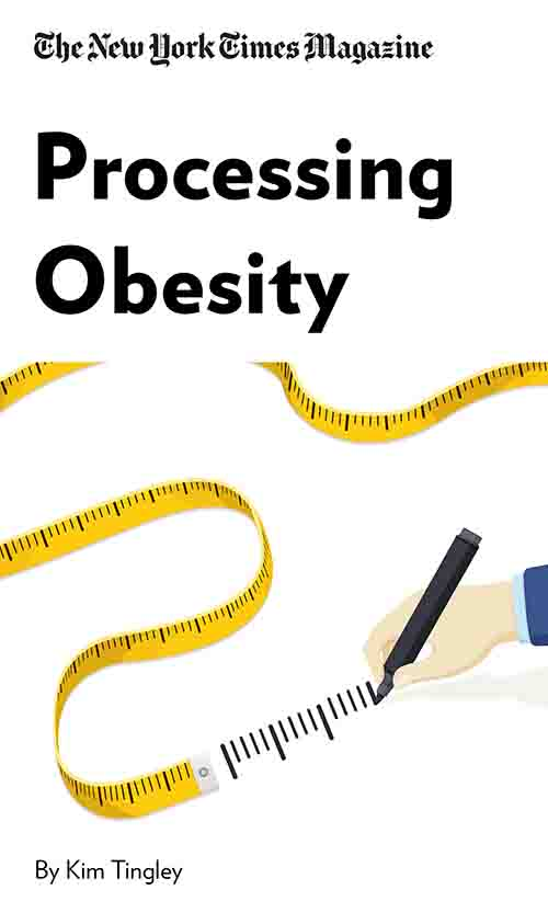 "Book Cover for ""Processing Obesity"""