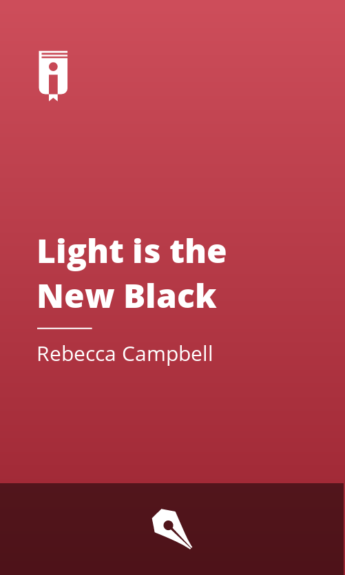 """Book Cover for """"Light is the New Black"""""""