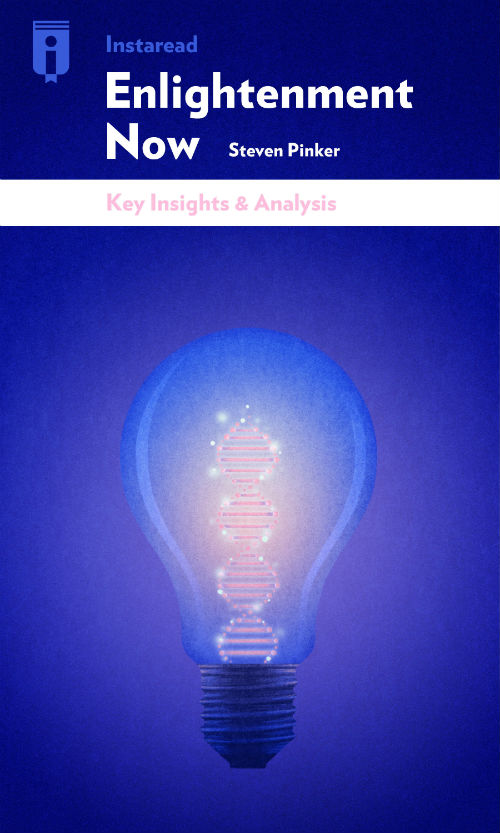 """Book Cover for """"Enlightenment Now"""""""