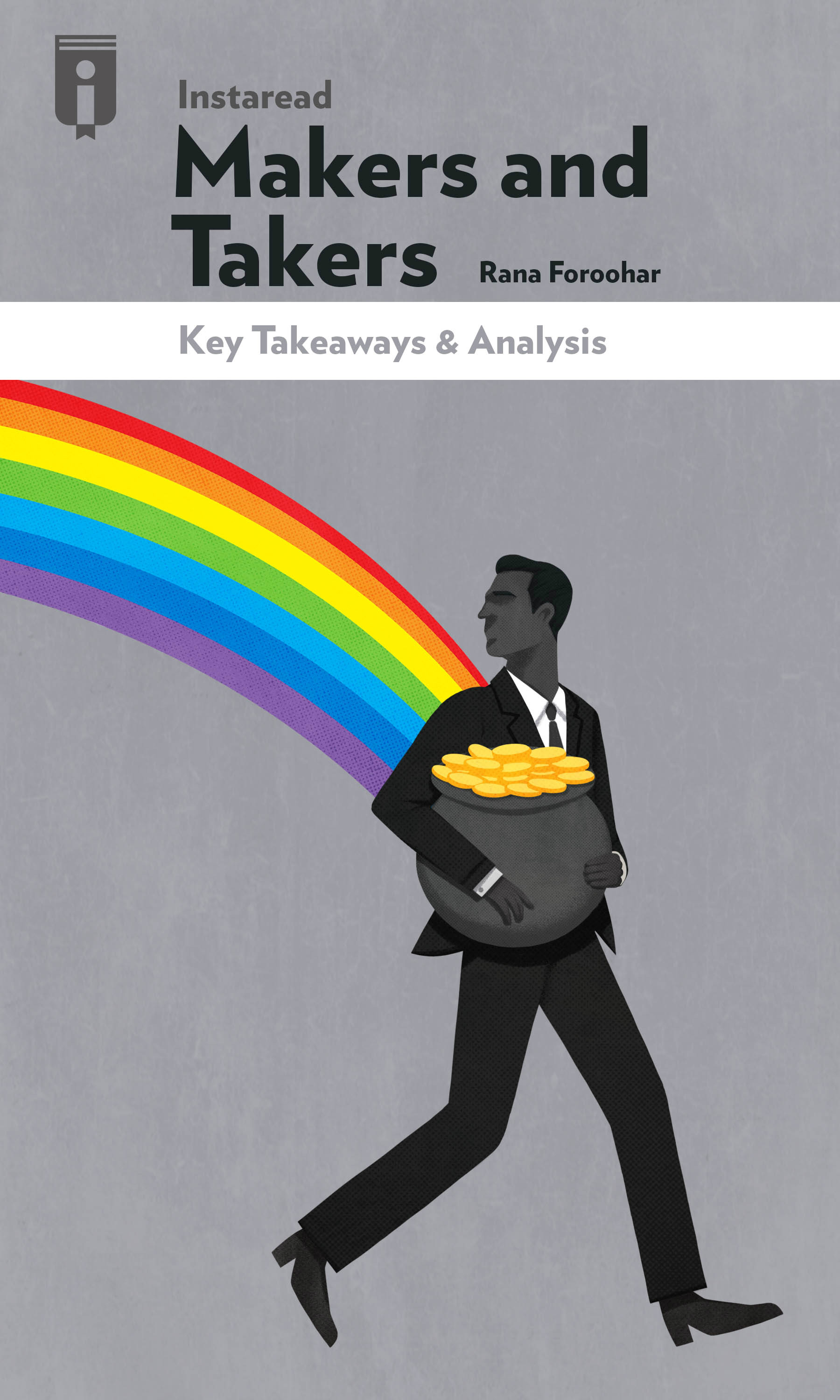 """Book Cover for """"Makers and Takers"""""""
