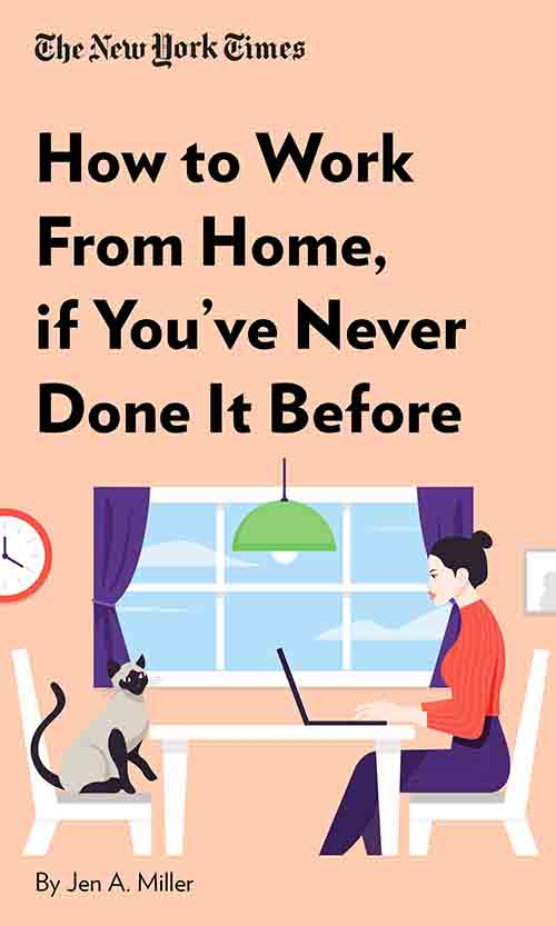 "Book Cover for ""How to Work From Home, if You've Never Done It Before"""