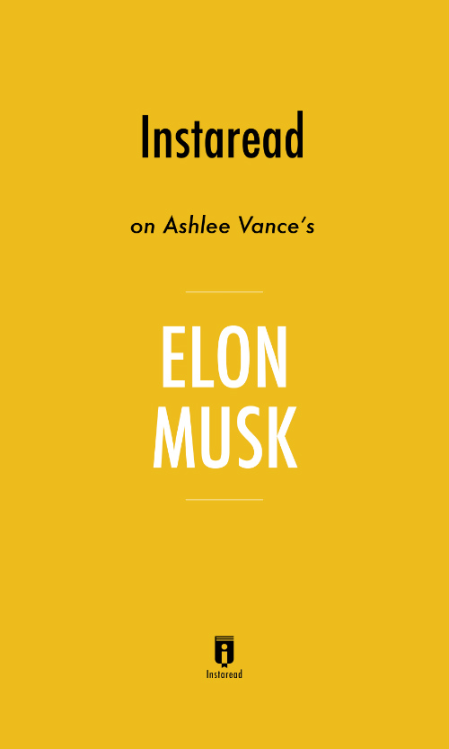 "Book Cover for ""Elon Musk"""