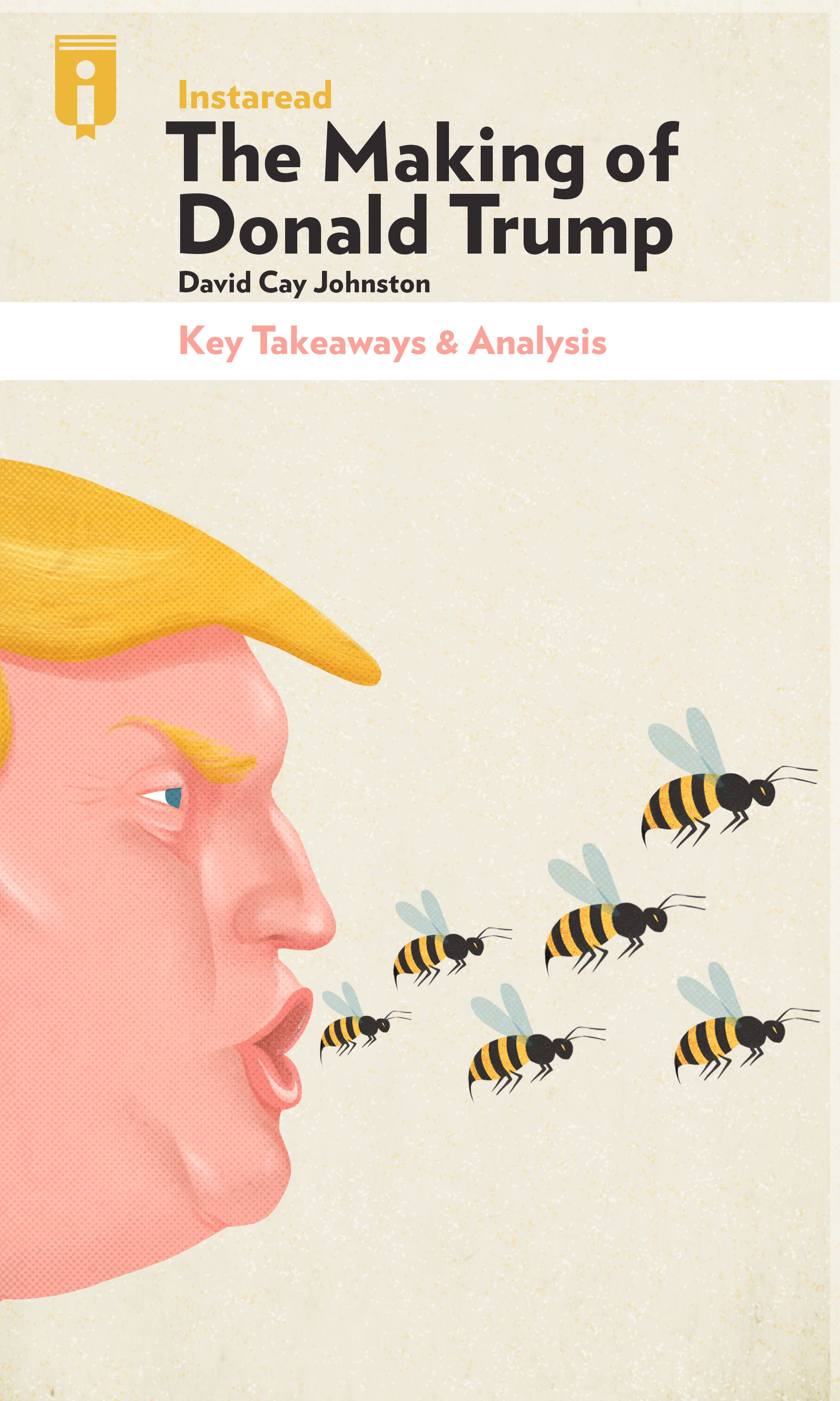 "Book Cover for ""The Making of Donald Trump"""