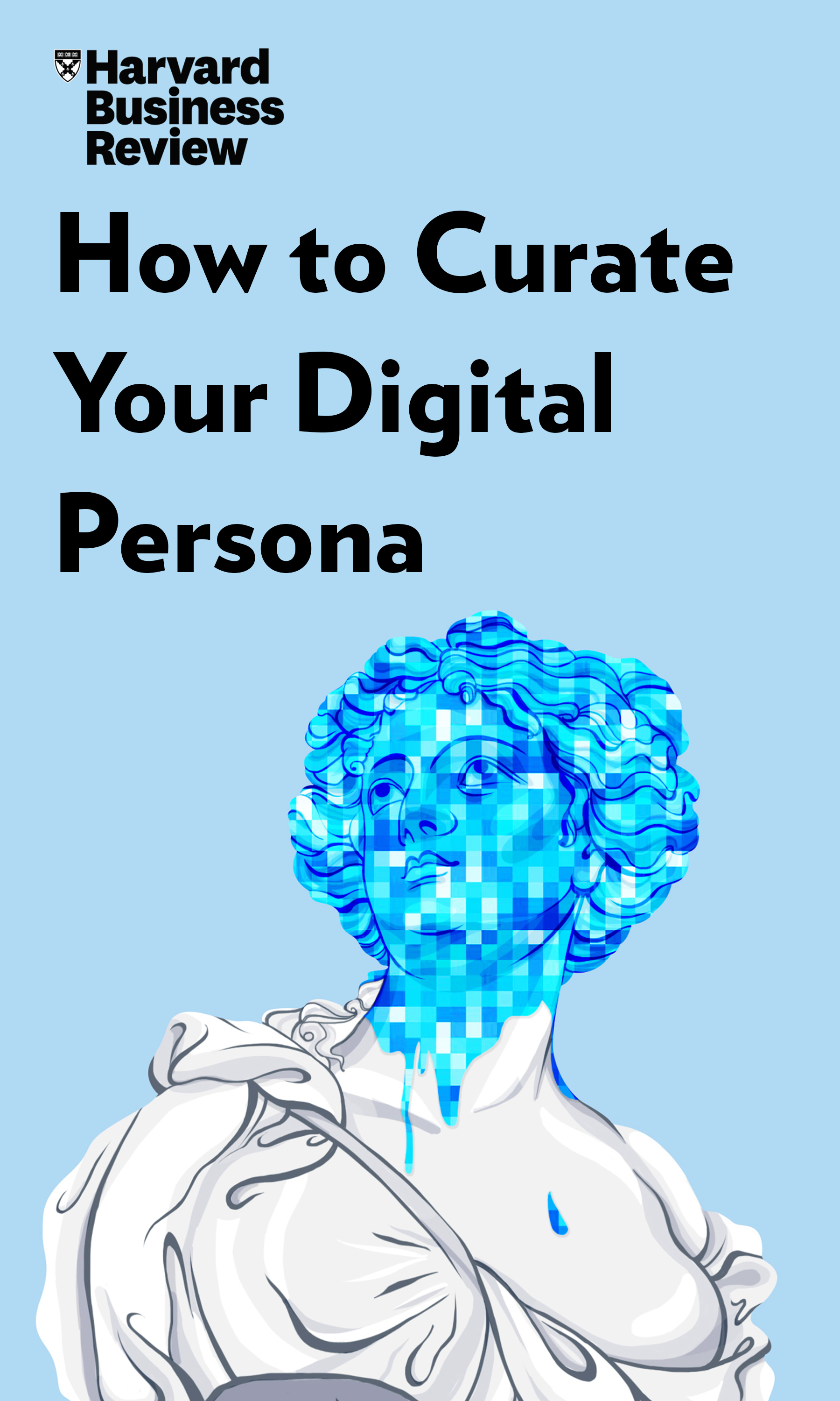 "Book Cover for ""How to Curate Your Digital Persona"""
