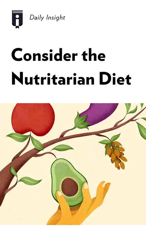 "Book Cover for ""Consider the Nutritarian Diet"""