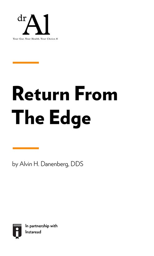 "Book Cover for ""Return From The Edge"""