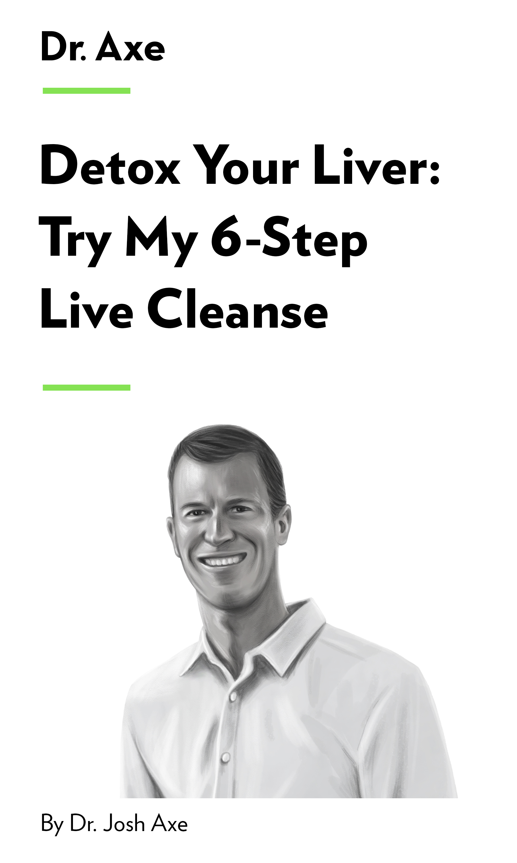 """Book Cover for """"Detox Your Liver: Try My 6-Step Liver Cleanse"""""""