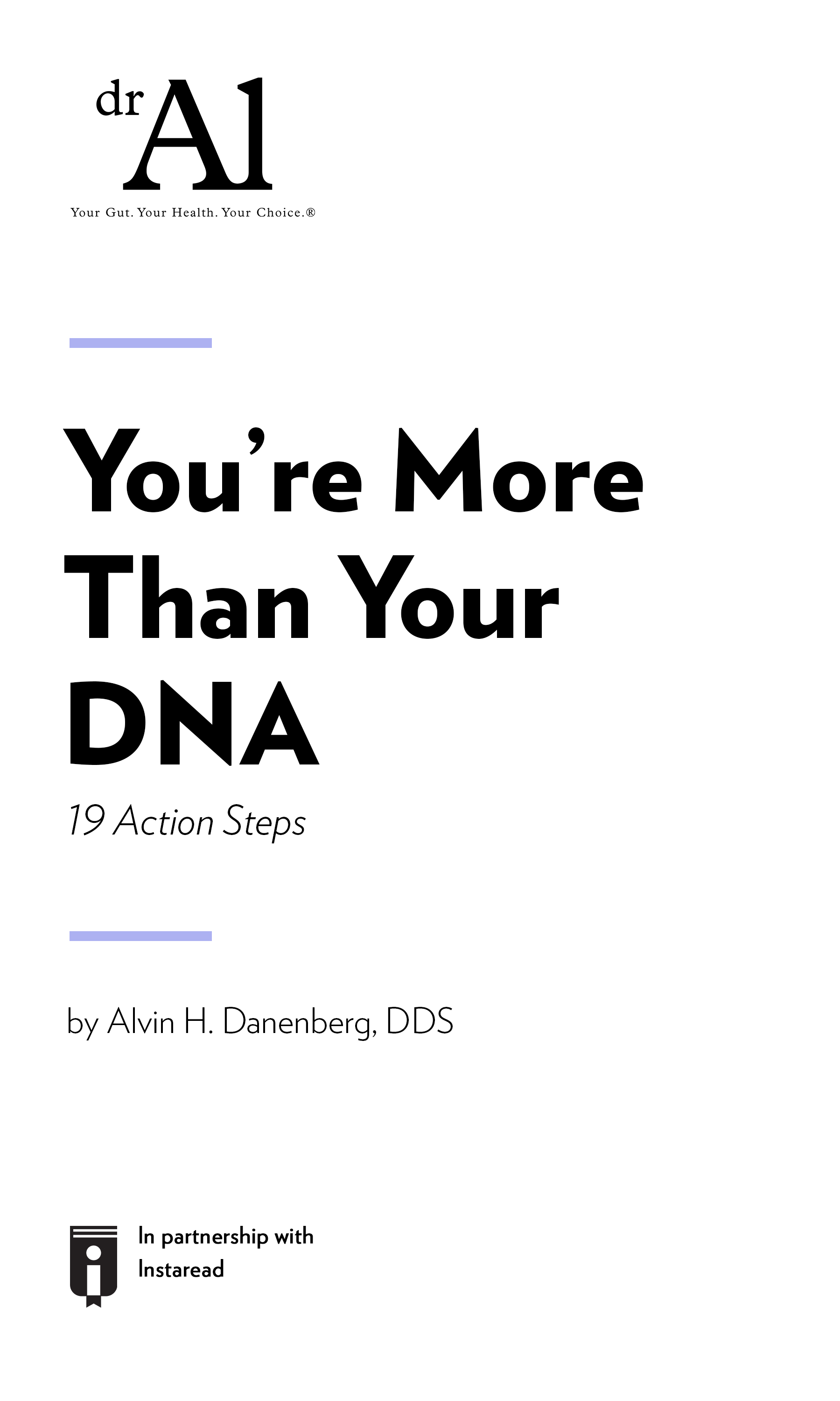 """Book Cover for """"You're More Than Your DNA – 19 Action Steps"""""""