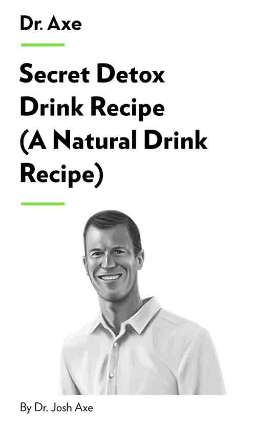 "Book Cover for ""Secret Detox Drink Recipe (A Natural Detox Drink Recipe)"""