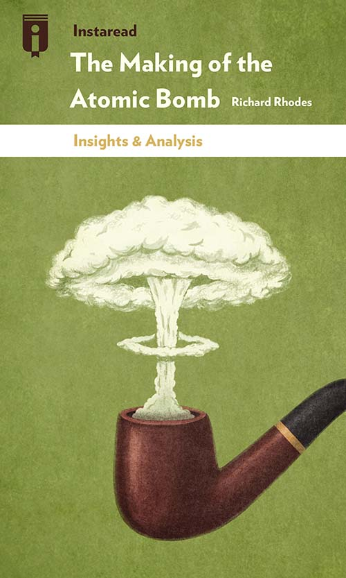 """Book Cover for """"The Making of the Atomic Bomb"""""""