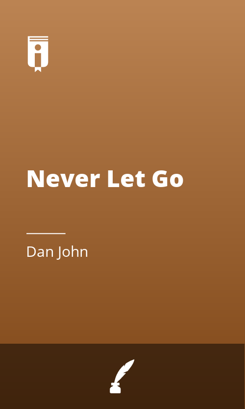 """Book Cover for """"Never Let Go"""""""