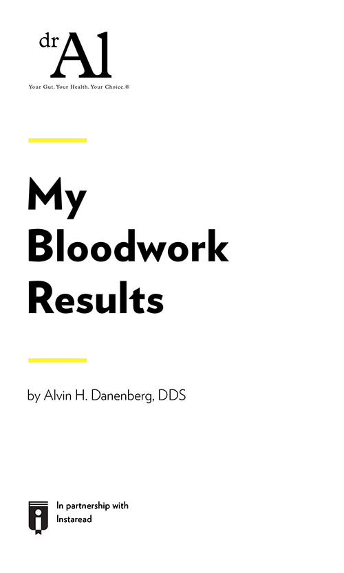 "Book Cover for ""My Bloodwork Results"""