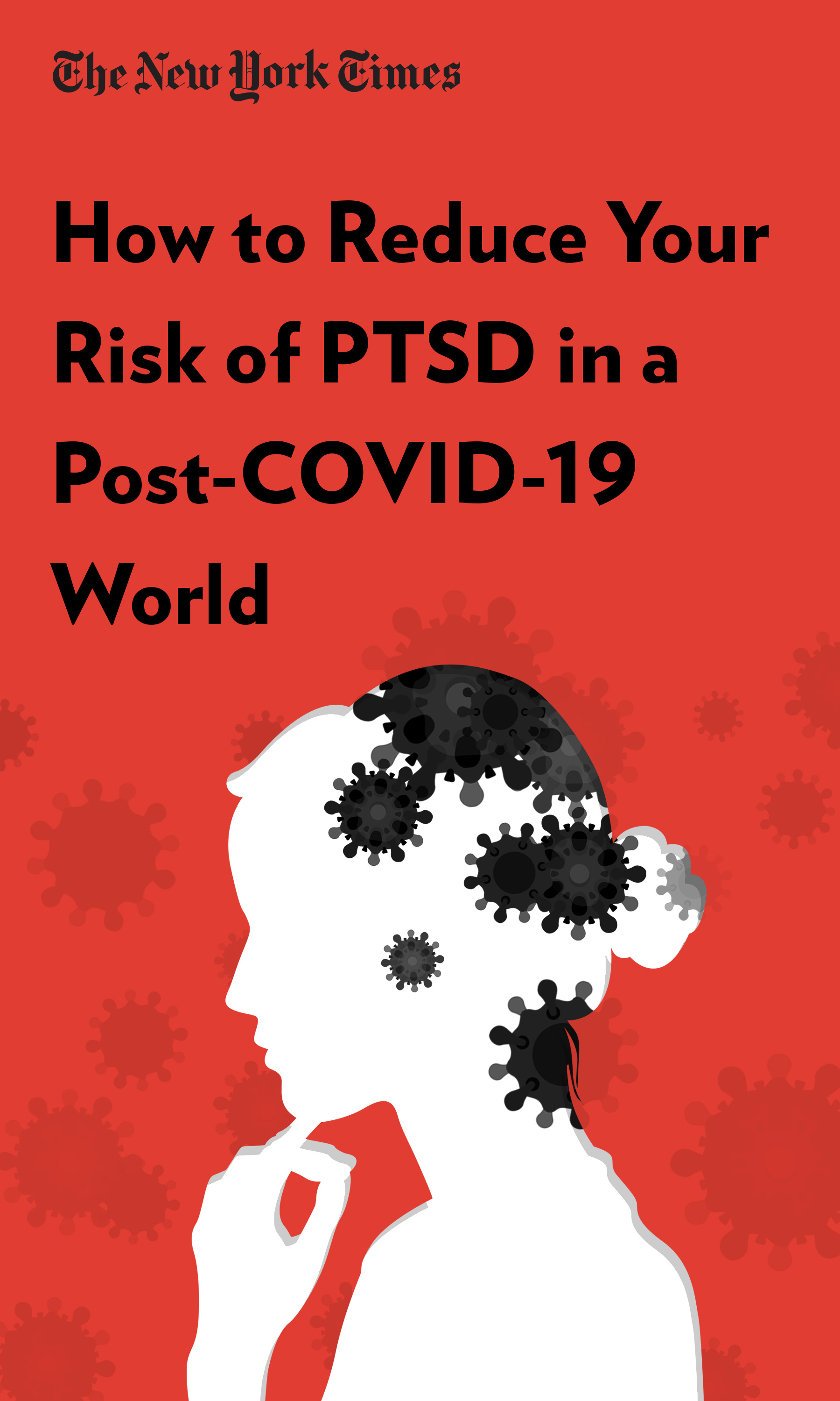 "Book Cover for ""How to Reduce Your Risk of PTSD in a Post-COVID-19 World"""