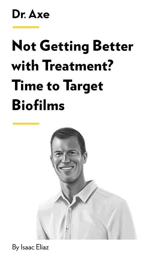 "Book Cover for ""Not Getting Better with Treatment? Time to Target Biofilms"""