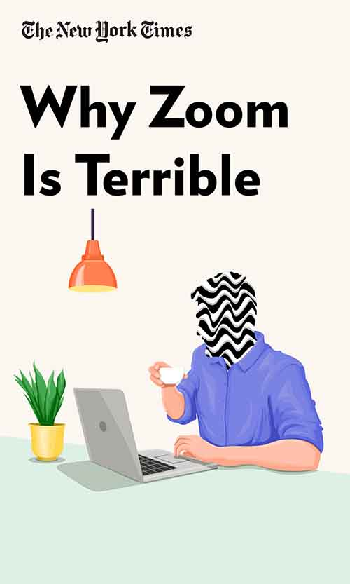 "Book Cover for ""Why Zoom Is Terrible"""