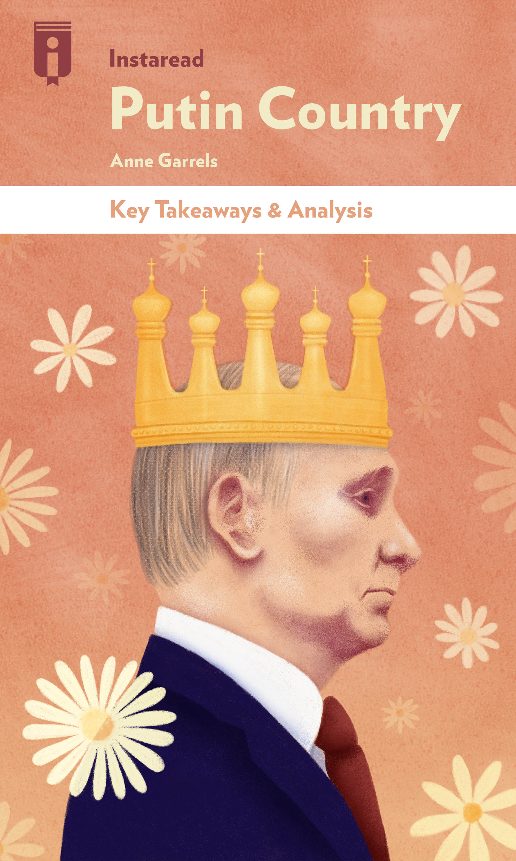 "Book Cover for ""Putin Country"""