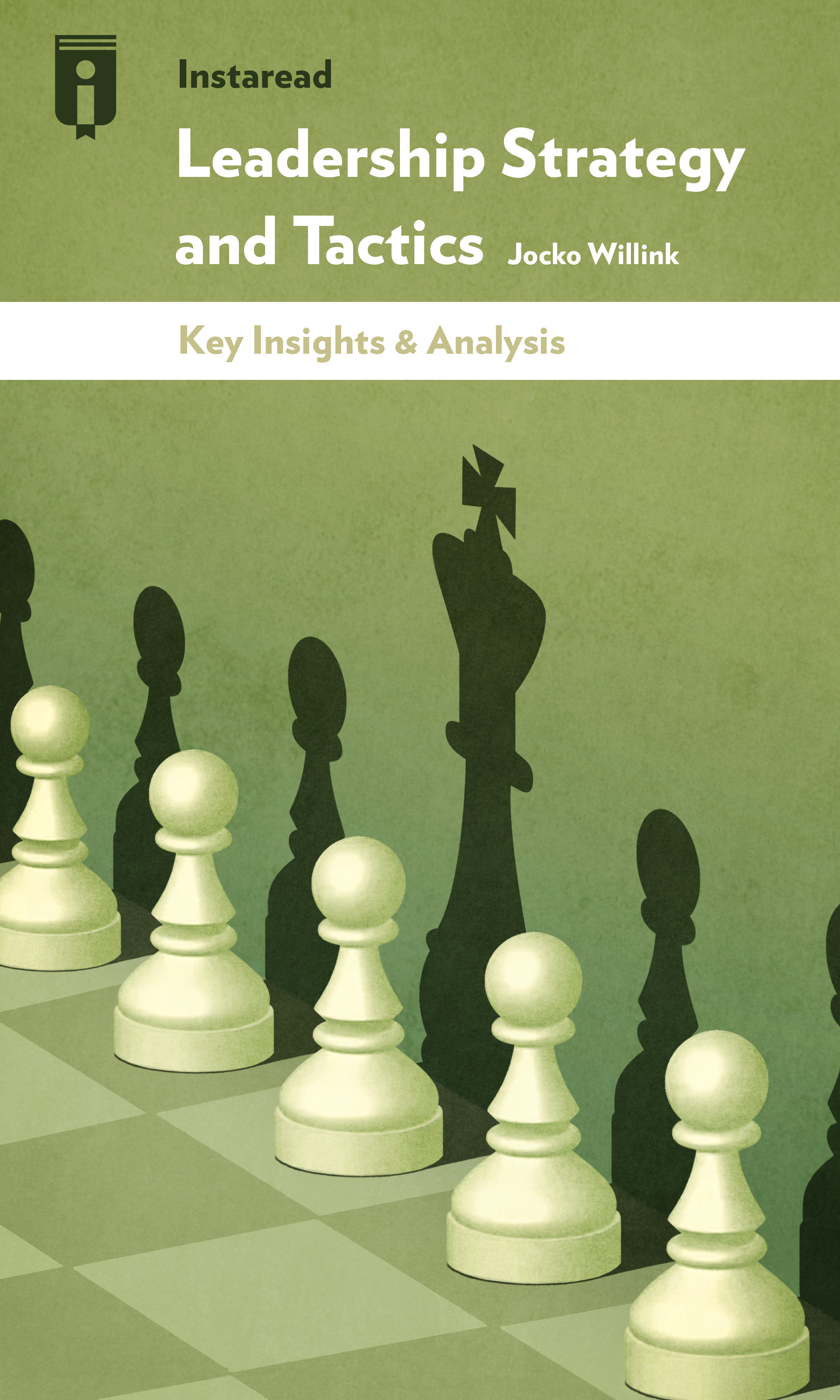 "Book Cover for ""Leadership Strategy and Tactics"""