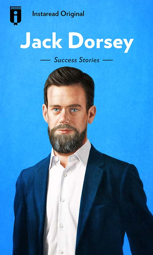 "Book Cover for ""Jack Dorsey"""