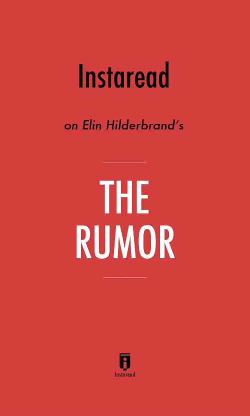 "Book Cover for ""The Rumor"""