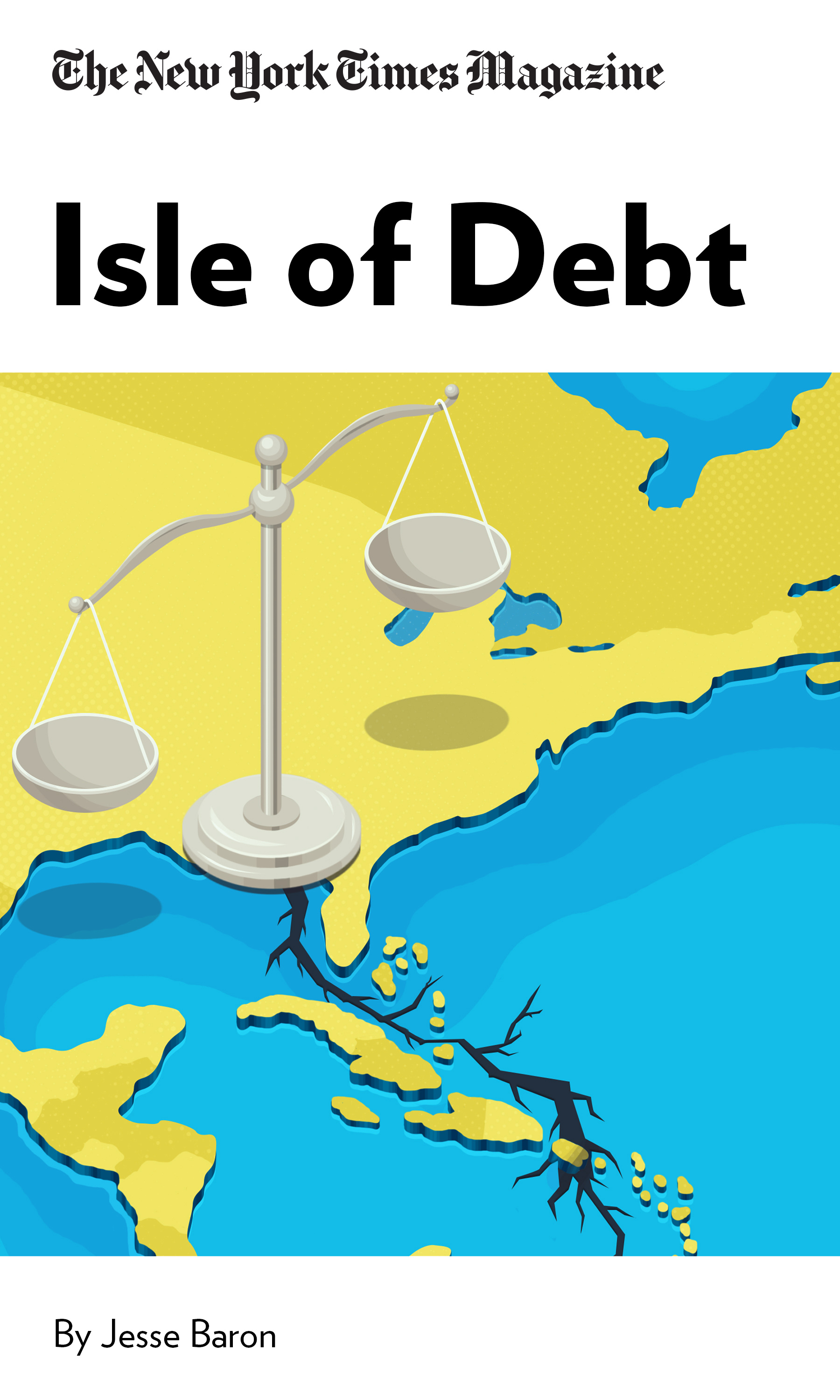 """Book Cover for """"Isle of Debt"""""""