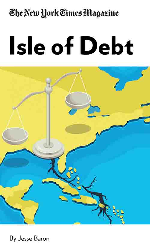 "Book Cover for ""Isle of Debt"""