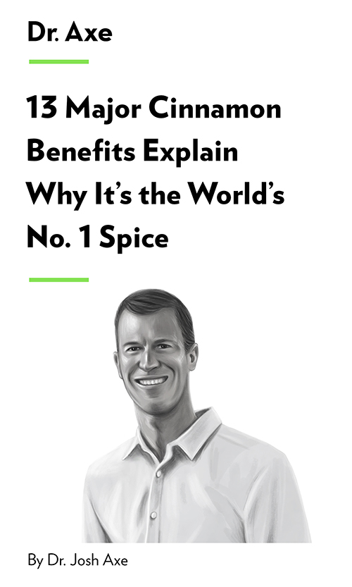 "Book Cover for ""13 Major Cinnamon Benefits Explain Why It's the World's No. 1 Spice"""