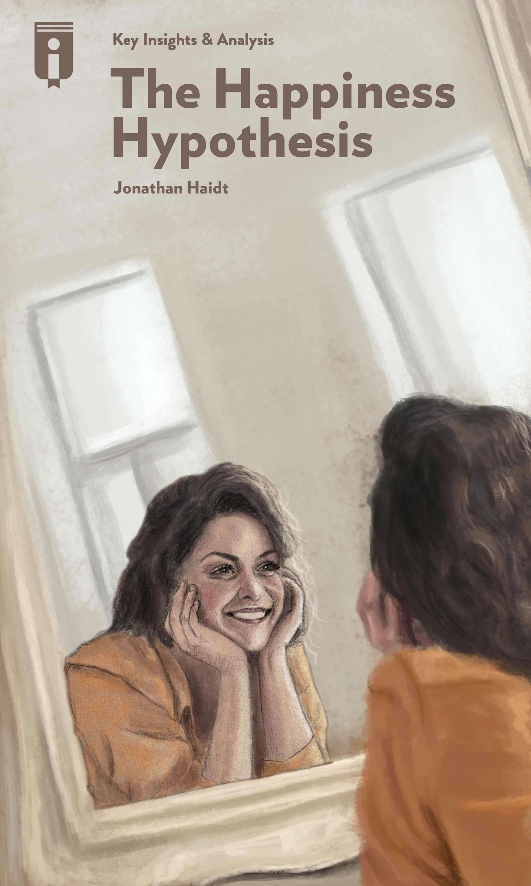 "Book Cover for ""The Happiness Hypothesis"""
