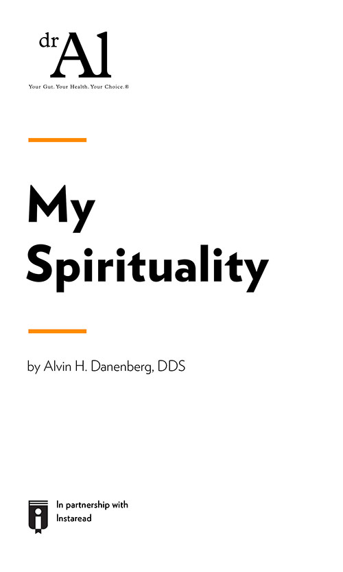 "Book Cover for ""My Spirituality"""