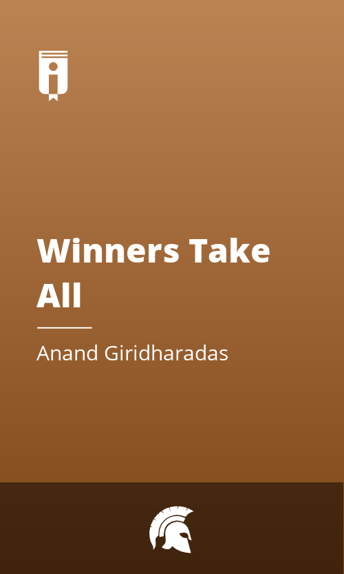 """Book Cover for """"Winners Take All"""""""