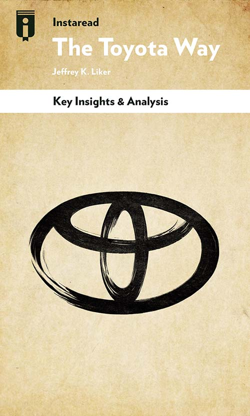 """Book Cover for """"The Toyota Way"""""""