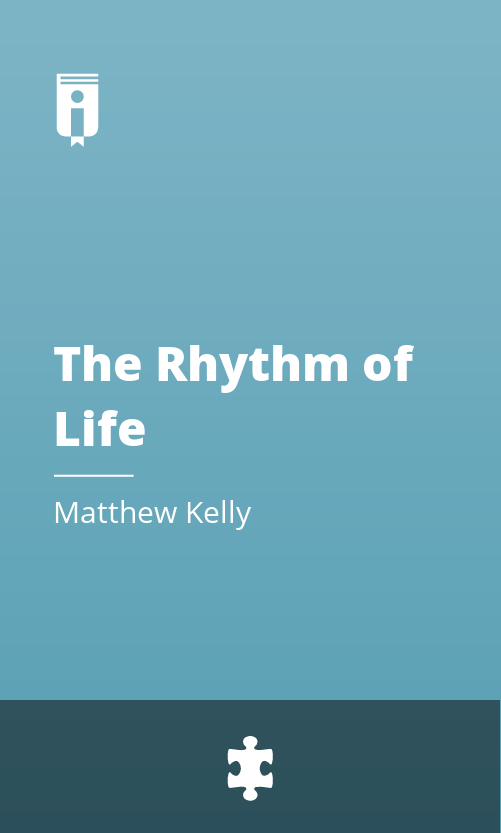 """Book Cover for """"The Rhythm of Life"""""""