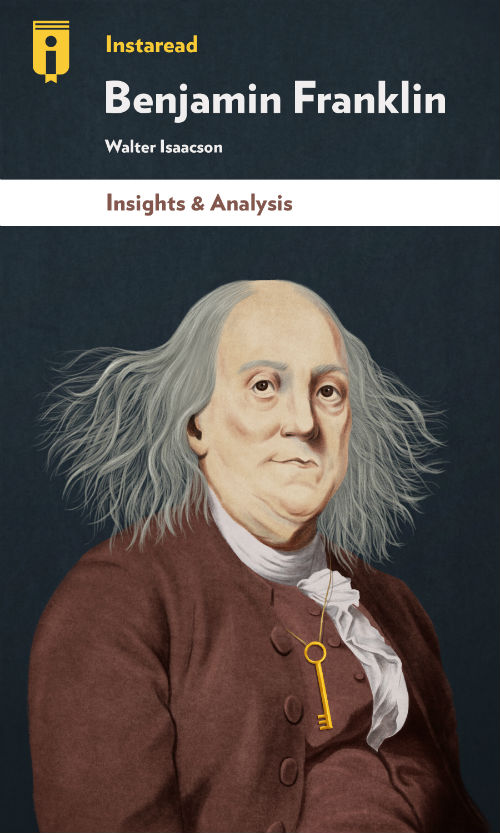 "Book Cover for ""Benjamin Franklin"""
