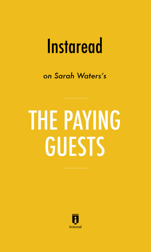 "Book Cover for ""The Paying Guests"""