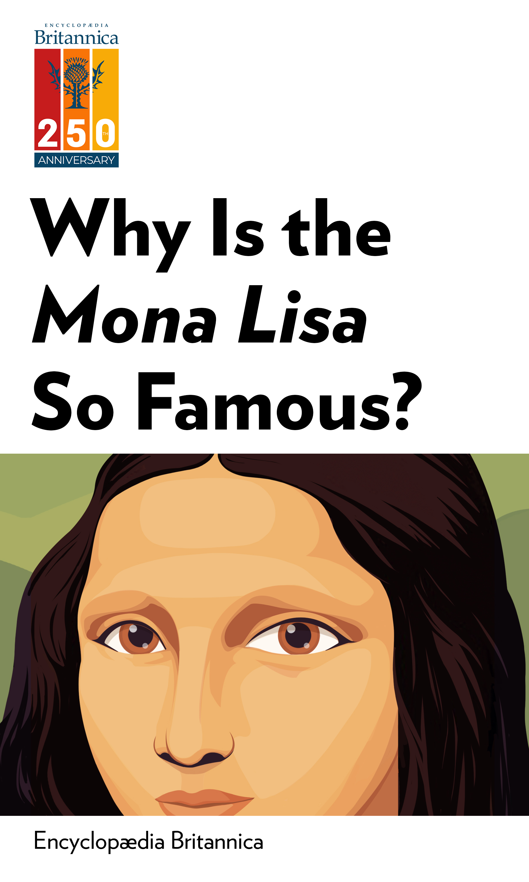 """Book Cover for """"Why Is the Mona Lisa So Famous?"""""""