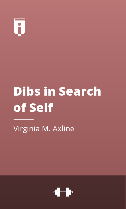 """Book Cover for """"Dibs in Search of Self"""""""