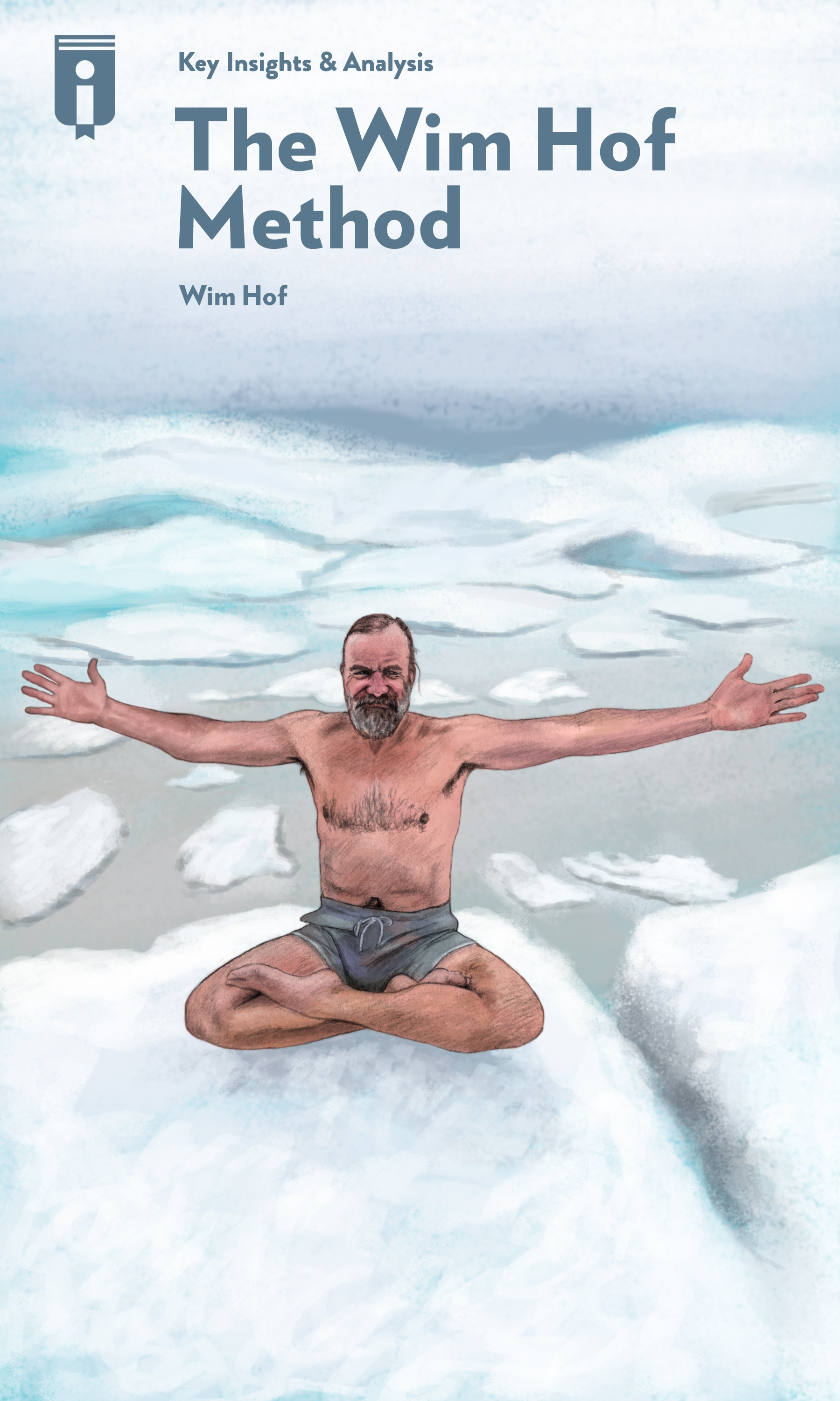 """Book Cover for """"The Wim Hof Method"""""""