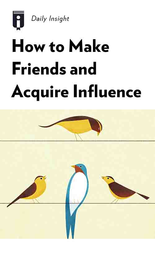 "Book Cover for ""How to Make Friends and Acquire Influence"""