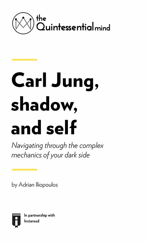 "Book Cover for ""Carl Jung, Shadow, and Self Carl Jung, Shadow, and Self – Navigating Through the Complex Mechanics of Your Dark Side"""
