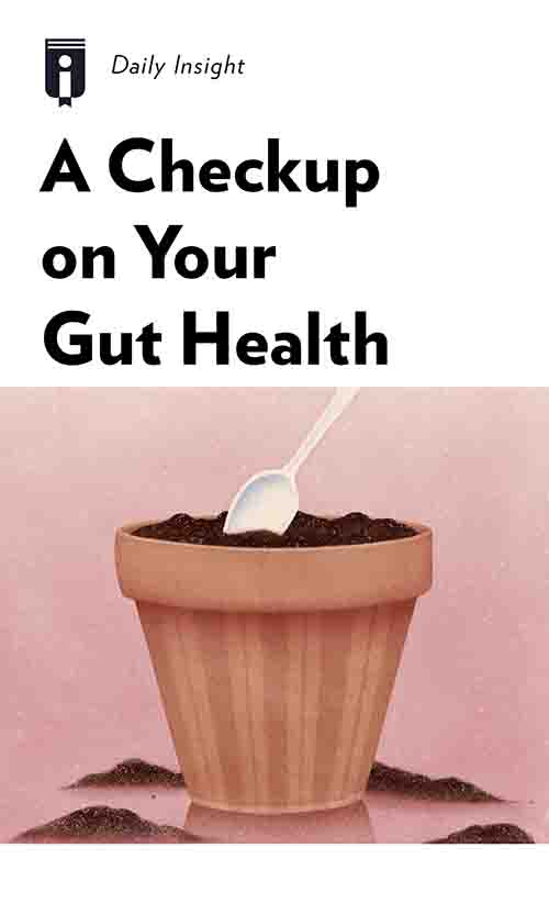 "Book Cover for ""A Checkup on Your Gut Health"""