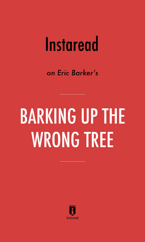 "Book Cover for ""Barking Up the Wrong Tree"""