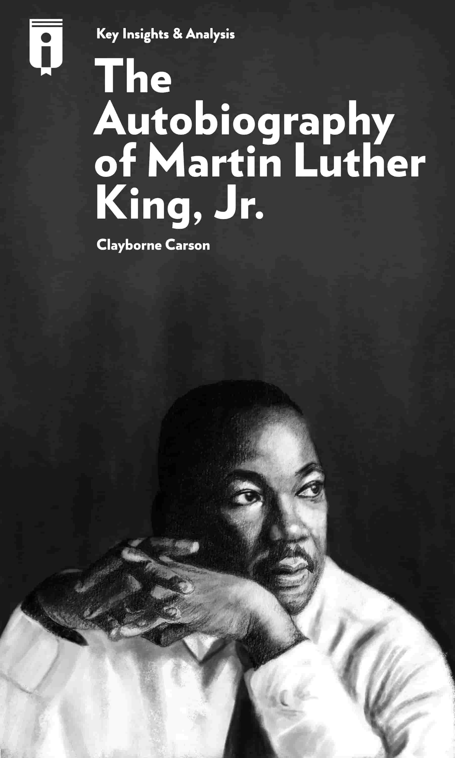"Book Cover for ""The Autobiography of Martin Luther King, Jr."""